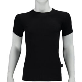 Bio Katoen T Shirts Zwart