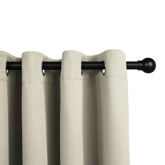 Gordijnen Beige (250 X 150 Cm) Railing
