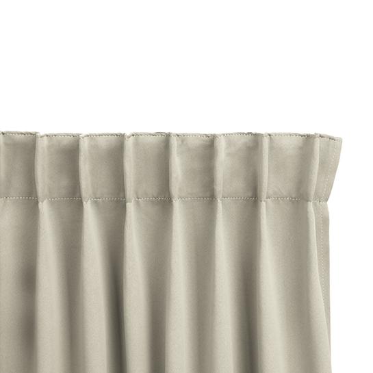 Gordijnen Beige Stangloos (250 X 150 Cm) Ophanging