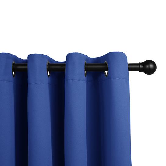 Gordijnen Blauw (250 X 150 Cm) Railing