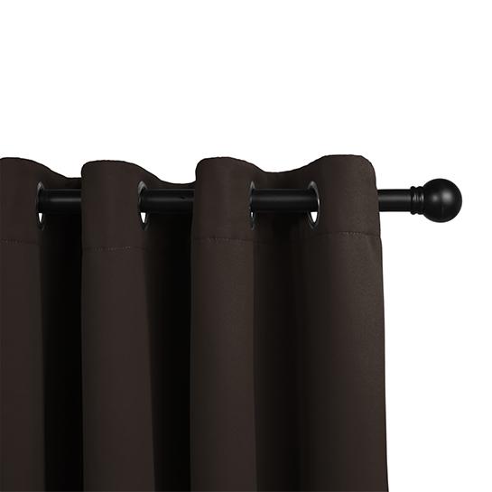 Gordijnen Bruin (250 X 150 Cm) Railing