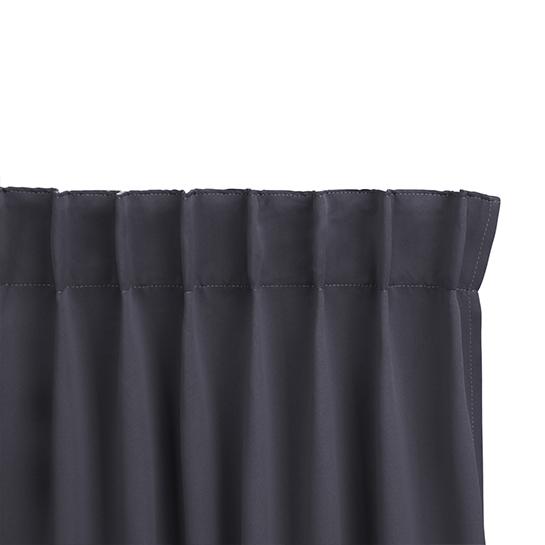 Gordijnen Grijs Stangloos (250 X 150 Cm) Ophanging