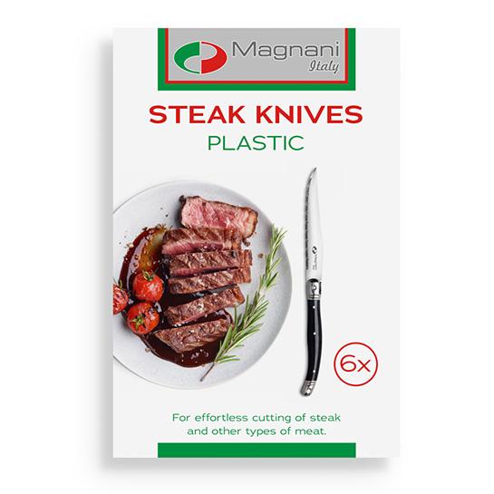 Magnani Steakmessen Plastic