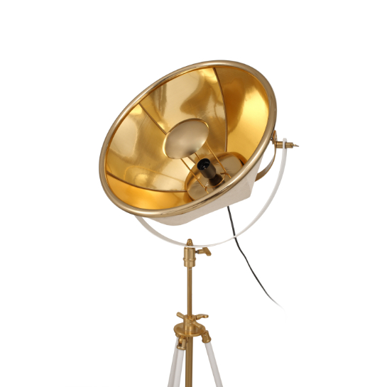 Mooyak Staande Lamp Newman Goud Wit 5