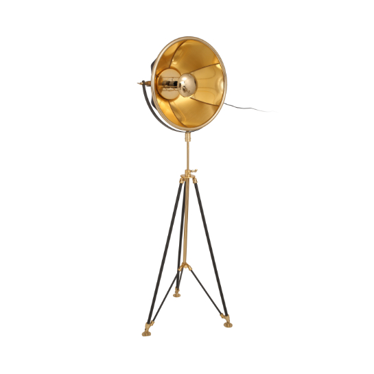 Mooyak Staande Lamp Newman Goud Zwart