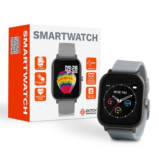 Smartwatch 2 Kleuren, Blauw Met Doos