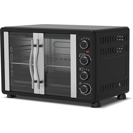 Turbotronic Feo45 Elektrische Oven 45 Liter Zwart Thumbnail