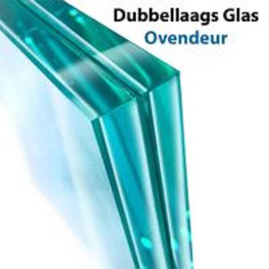 Turbotronic Tt Ev55 Rvs Vrijstaande Elektrische Oven – Dubbellaags Glas