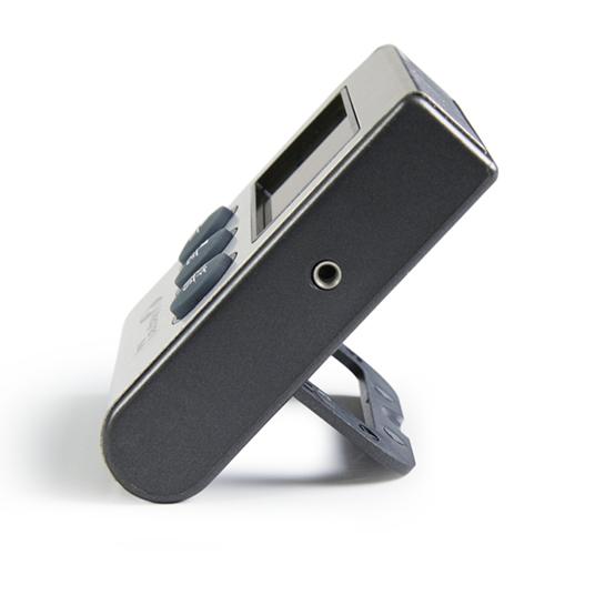 Vleesthermometer Met Timer Meter Zijkant
