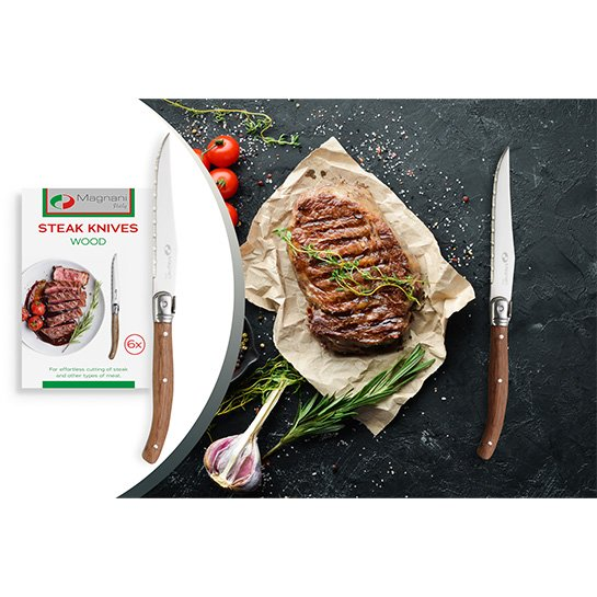 Magnani Steakmessen Hout Thumbnail