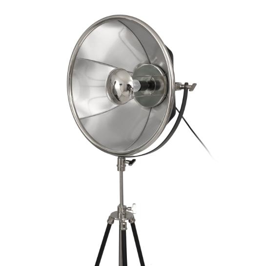Mooyak Staande Lamp Newman Zilver Zwart 6