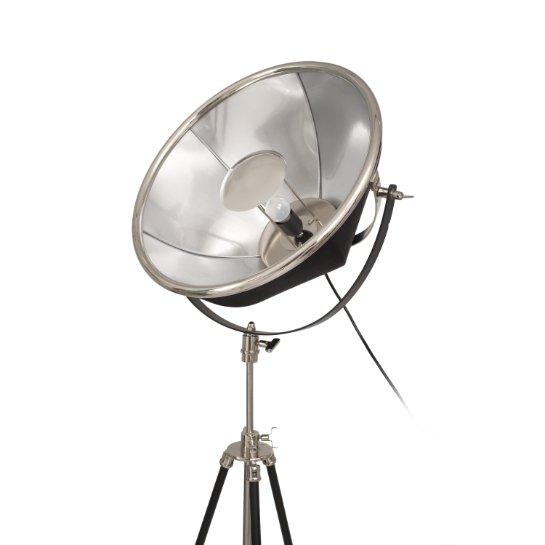 Mooyak Staande Lamp Newman Zilver Zwart 7